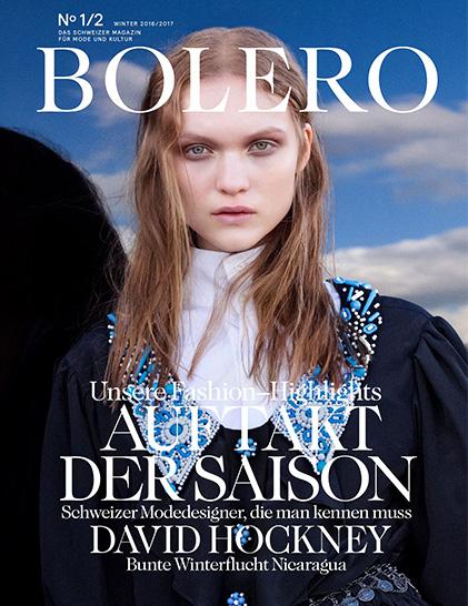 LE PURE Bolero Magazin Cover
