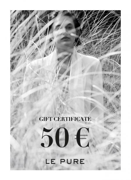 gift certificate LE PURE 50 euro