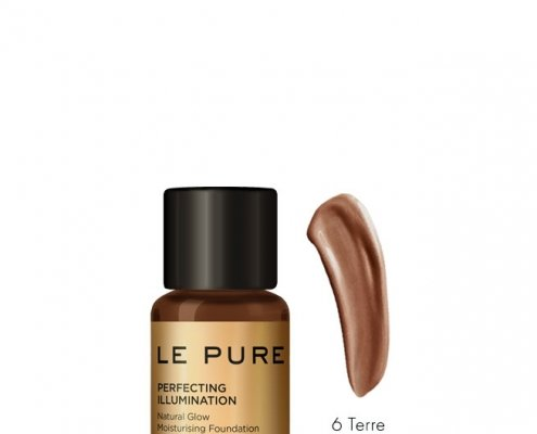 adaptive makeup cream in 6 colors - perfecting illumination color terre - LE PURE
